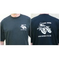 GPZ 900R Owners Club Tee shirt